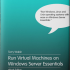 Run a VM and Applications as a Service on Server Essentials