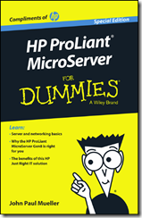 HP ProLiant MicroServer for Dummies